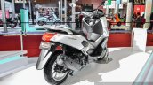 Yamaha NMax white rear quarter at Auto Expo 2016