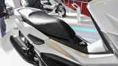 Yamaha NMax white seat at Auto Expo 2016