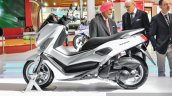 Yamaha NMax white side at Auto Expo 2016