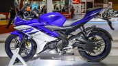 Yamaha R15 V2 Revving Blue at Auto Expo 2016