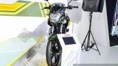 Yamaha SZ-RR V2.0 Matt Green front at Auto Expo 2016