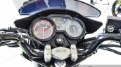 Yamaha SZ-RR V2.0 Matt Green speedometer at Auto Expo 2016