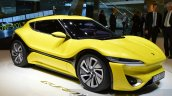 nanoFlowcell QUANTiNO front three quarter unveiled at the 2016 Geneva Motor Show Live