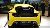 nanoFlowcell QUANTiNO rear unveiled at the 2016 Geneva Motor Show Live