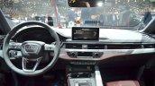 2016 Audi A4 allroad quattro dashboard at the Geneva Motor Show Live