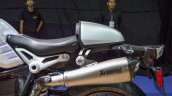 2016 BMW R nineT brushed aluminium tank Akrapovic exhaust at 2016 BIMS