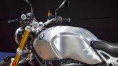 2016 BMW R nineT brushed aluminium tank at 2016 BIMS