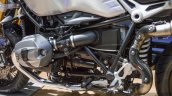 2016 BMW R nineT brushed aluminium tank engine at 2016 BIMS