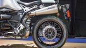 2016 BMW R nineT brushed aluminium tank rear wheel at 2016 BIMS