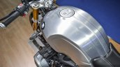 2016 BMW R nineT brushed aluminium tank welding seam at 2016 BIMS