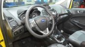 2016 Ford EcoSport S interior at GIMS 2016