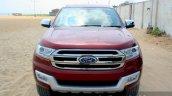 2016 Ford Endeavour 2.2 AT Titanium front close Review