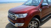2016 Ford Endeavour 2.2 AT Titanium front end Review