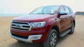 2016 Ford Endeavour 2.2 AT Titanium front quarter Review