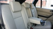 2016 Ford Endeavour 2.2 AT Titanium rear seat with armrest Review