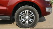 2016 Ford Endeavour 2.2 AT Titanium wheel Review