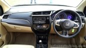 2016 Honda Amaze 1.2 VX (facelift) dashboard First Drive Review