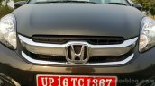 2016 Honda Amaze 1.2 VX (facelift) grille First Drive Review