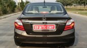 2016 Honda Amaze 1.2 VX (facelift) rear First Drive Review
