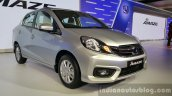 2016 Honda Amaze facelift front quarter launched