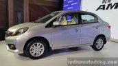 2016 Honda Amaze facelift silver launched