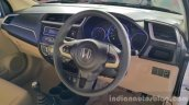 2016 Honda Amaze facelift steering wheel launched