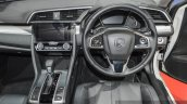 2016 Honda Civic Modulo steering at 2016 BIMS