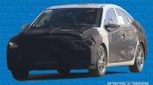 2016 Hyundai Verna front three quarters spy shot