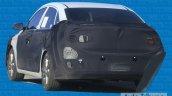 2016 Hyundai Verna rear three quarters spied