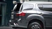 2016 Isuzu MU-X rear quarter launched in Thailand