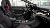 2016 Mercedes AMG CLA 45 facelift interior unveiled