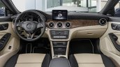 2016 Mercedes CLA facelift dashboard unveiled