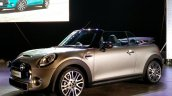 2016 Mini Convertible front quarter India launch