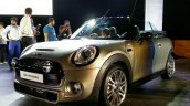 2016 Mini Convertible front quarters India launched