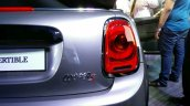 2016 Mini Convertible taillight India launched