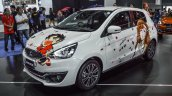 2016 Mitsubishi Mirage at front three quarters left side 2016 Bangkok International Motor Show