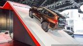 2016 Mitsubishi Pajero Sport ramp rear left three quarter at 2016 BIMC