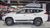 2016 Mitsubishi Pajero Sport side profile at 2016 BIMC