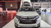 2016 Mitsubishi Pajero Sport white front at 2016 BIMC
