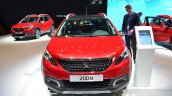 2016 Peugeot 2008 (facelift) front at the Geneva Motor Show Live