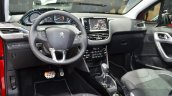2016 Peugeot 2008 (facelift) interior at the Geneva Motor Show Live