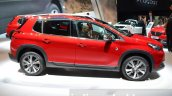 2016 Peugeot 2008 (facelift) side at the Geneva Motor Show Live