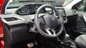 2016 Peugeot 2008 (facelift) steering wheel at the Geneva Motor Show Live