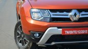 2016 Renault Duster facelift AMT front bumper Review