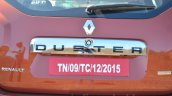 2016 Renault Duster facelift AMT number plate Review