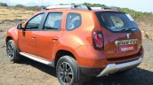 2016 Renault Duster facelift AMT rear quarter Review