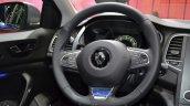 2016 Renault Megane Estate GT steering wheel at the 2016 Geneva Motor Show