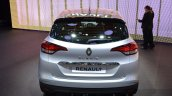 2016 Renault Scenic rear at the 2016 Geneva Motor Show Live