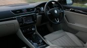 2016 Skoda Superb Laurin & Klement driver's area First Drive Review