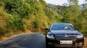 2016 Skoda Superb Laurin & Klement front on road First Drive Review